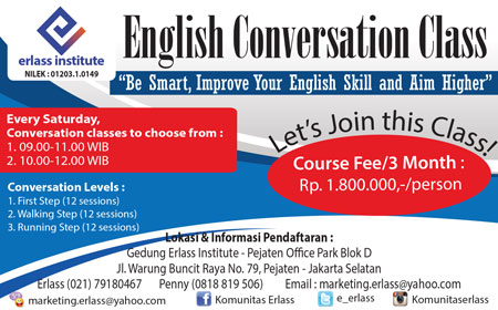 English Conversation Class